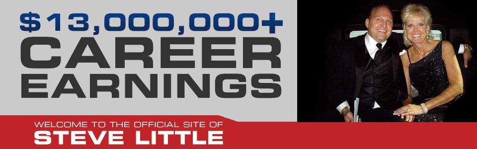 Steve Little 13-million-Career-Earnings
